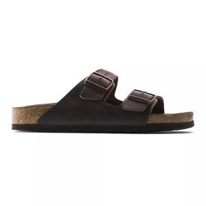 Birkenstock Arizona Soft Footbed Oiled Leather Sandals - Regular Unisex Men's Wo