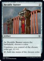 MTG x4 Heraldic Banner Throne of Eldraine Uncommon NM/M Magic the Gathering
