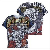 MINUTE MIRTH Skull Rose Horror Rock Punk Hipster Street Style #M112 Men T-Shirt