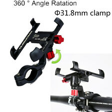 360 ° Rotatable CNC Motorcycle Handlebar Phone/GPS Holder Anti-shock Sticker Pad