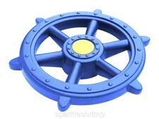 PIRATE STEERING WHEEL Play Equipment Outdoor Toys - blue