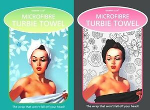 Turbie Towel Twist Hair Drying Wrap Soft Microfibe Turban Bath Cap Hat One size