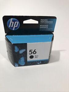Genuine HP 56 Black Ink C6656AN Genuine New In Box / Sealed