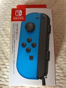 Nintendo Switch 10005494 Official Joy-Con Left Controller - Blue