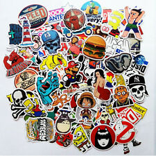 10pc Mixed Stickers Motocross Motorcycle Car ATV Racing Bike Helmet Decal Random