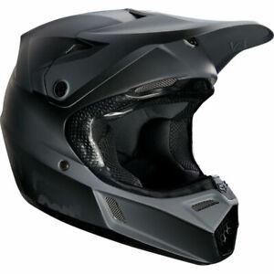 Fox Racing V3 Off-Road MX Helmet Matte Black Youth