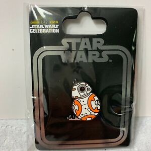 STAR WARS CELEBRATION 2019 EXCLUSIVE BB-8 INCENTIVE PIN - RARE!