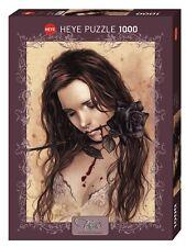 VICTORIA FRANCÉS - FAVOLE : DARK ROSE - Heye Puzzle 29430 - 1000 Pcs. NEU