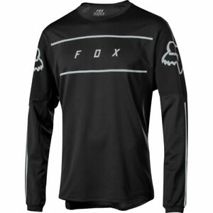 Fox Racing Flexair Long Sleeve L/S Fine Line Jersey Black