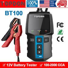 Car Battery Tester 12V Load Tester 100-2000 CCA Digital Auto Battery Analyzer US