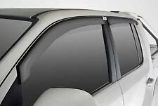 Amarok Weather Shields Dual Cab (Set of 4) Genuine Volkswagen