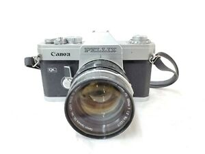 【For parts】Canon PELLIX QL w/ CANON  LENS FL 58mm f1.2 from JAPAN