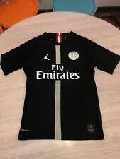 Maillot Jordan PSG Ligue des Champions Noir Cavani 9 Authentique Taille M