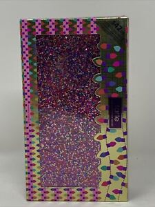 Tarte Life of the Party Clay Blush Cheek Palette Glitter Clutch $132 RetailValue