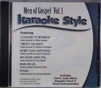 Men Of Gospel Volume 1 Christian Karaoke Style NEW CD+G Daywind 6 Songs