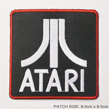 ATARI CORPORATION - VCS / Arcade Game - Large Stylish Retro Iron-On Patch!