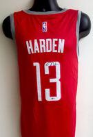 James Harden Houston Rockets Autographed Signed Nike Swingman Jersey BAS COA -52
