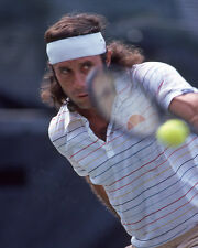 1980 Tennis Pro GUILLERMO VILAS Glossy 8x10 Photo Print Wimbledon Open Poster