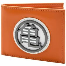 Official Dragon Ball Z Kame Turtle Gi Symbol Orange ID & Card Wallet *SECOND*