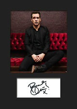 BRENDON URIE #2 A5 Signed Mounted Photo Print (Reprint) - FREE DELIVERY