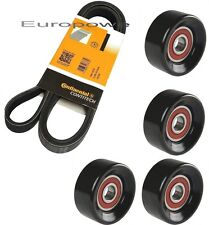 V-Ribbed Belts Set Tensioning Pulley Kia Sorento Jc 2.5 Crdi