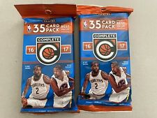 2 X 2016-17 Panini Complete Basketball 35 Cards Fat Packs KD Dirk Auto?