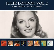 Julie London EIGHT (8) CLASSIC ALBUMS VOL 2 Around Midnight NEW SEALED 4 CD
