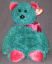 TY 2001 HOLIDAY TEDDY BEAR BEANIE BUDDY - MINT with MINT TAGS