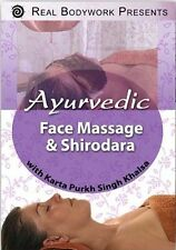 AYURVEDIC FACE MASSAGE & SHIRODARA ... DVD ........ NEW