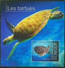 """NIGER 2013 """"TURTLES"""" SOUVENIR SHEET"""