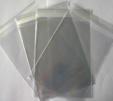 A4 Clear Cello Bags With Self Seal Strip - 100 Pack