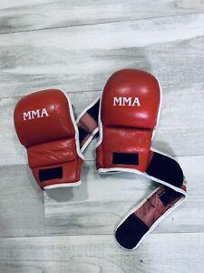 MMA Proforce Thunder Red Gloves S/M