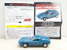 1/100 Super Car Collection 1973 LOTUS EUROPA BLUE diecast car model