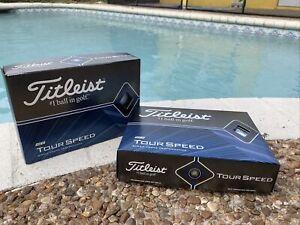 SALE Titleist Tour Speed Golf Balls, White, (2 Dozen)