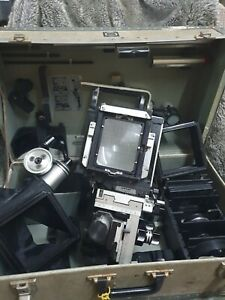 Sinar C Large Format Film Camera - complete with box. Very good condition
