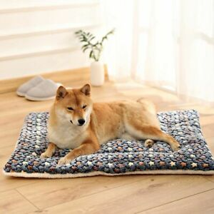 Pet Mat Dog Bed Thicken Warm Cat Soft Blanket Puppy Sleeping Cover Towel Cushion