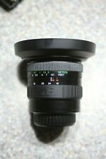 For Sony Alpha DSLR camera Vivitar Series 1 19-35mm 1:3.5-4.5 MC wide angle lens
