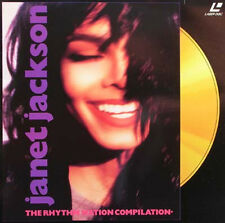 JANET JACKSON - The Rhythm Nation Compilation Laser Disc