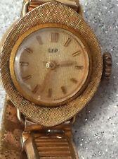Ancienne Montre Lip Femme - Métal Doré - Old Watch - Gold Tone - Woman - Vintage