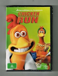 Chicken Run Dvd - Brand New & Sealed