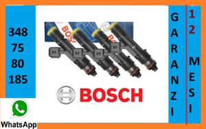 0280158827 Iniettori nuovi Bosch multipla doblò panda punto 188 metano