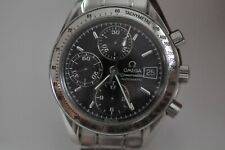 Nice Omega Speedmaster automatic watch chronograph with date black Dial