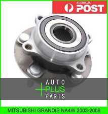 Fits MITSUBISHI GRANDIS NA4W Front Wheel Bearing Hub
