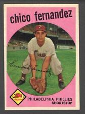 1959 Topps #452 Chico Fernandez