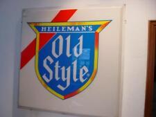 STUPENDA INSEGNA OLD STYLE HEILEMAN'S