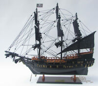 """Black Pearl Ship Model Ready for Display 20/"""""""