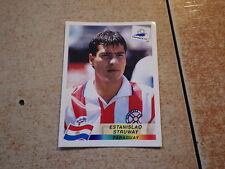 FOOTBALL PANINI STICKER FRANCE 98 WORLD CUP DANONE / E. Struway Paraguay (273)