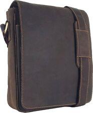 UNICORN Bolsa de cuero genuino - iPad, Tablet accesorios Bolsa - Marrón #2E