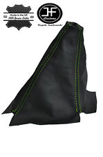 GREEN STITCHING MANUAL LEATHER GEAR GAITER FITS HONDA CRV 2002 TO 2006