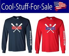 Boston Red Sox Baseball Long Sleeve T Shirt